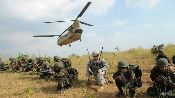 Latihan Militer Gabungan AS-Filipina