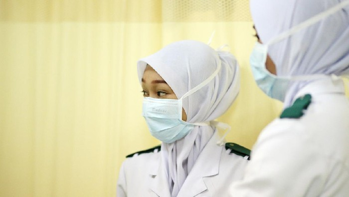 Portrait of nurse assistants in hospital, Malaysia.