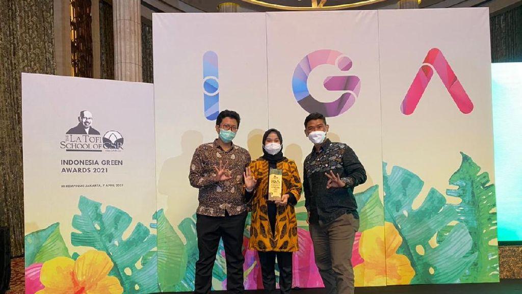 Fuel Terminal Cikampek Raih Penghargaan Indonesia Green Award 2021
