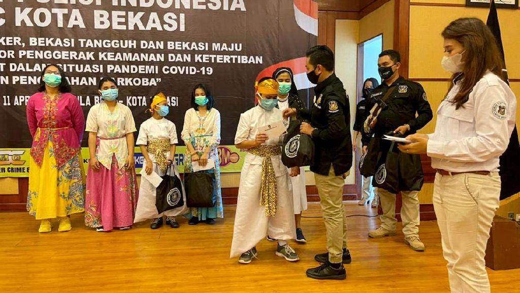Potret Deklarasi Sahabat Polisi Indonesia Bekasi