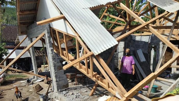 puskesmas di malang rusak dampak gempa