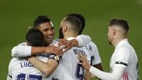 Hasil El Clasico Bawa Real Madrid Puncaki Klasemen Liga Spanyol
