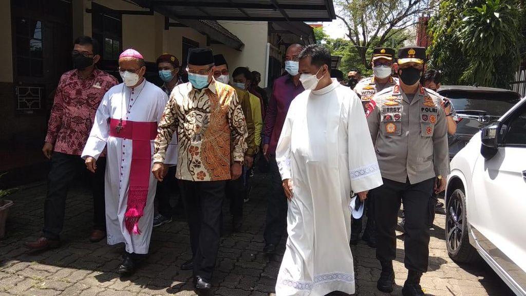 Dukungan Moral Said Aqil ke Katedral Makassar Pasca-bom Bunuh Diri