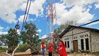Pulihkan Jaringan Telekomunikasi di NTT, Telkomsel Kerahkan TERRA