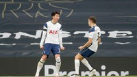 Babak Pertama, Son Heung-Min Bawa Spurs Ungguli MU 1-0