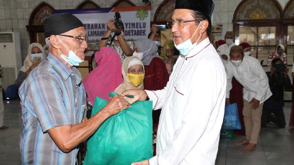 Waket MPR Bagikan Paket Yimelu untuk Warga Gorontalo di Jabotabek