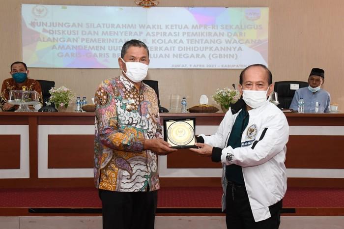 Wakil Ketua MPR Syarief Hasan