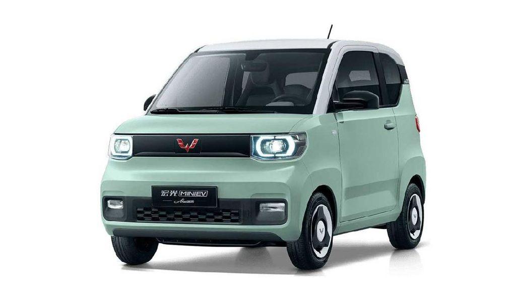 Mobil Wuling Hongguang Mini EV Laris Manis di Tengah Krisis Chip Semikonduktor