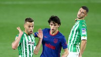 Real Betis Vs Atletico Madrid Tuntas 1-1
