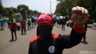 Buruh Kembali Demo Tolak Omnibus Law