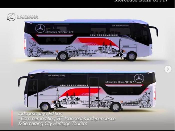 Bus Livery Laksana