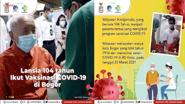 dr Reisa memaparkan progres vaksinasi COVID-19 bagi lansia (YouTube Sekretariat Presiden)