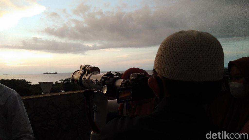 Hilal Belum Terlihat di Makassar, BMKG Ungkap Sebabnya