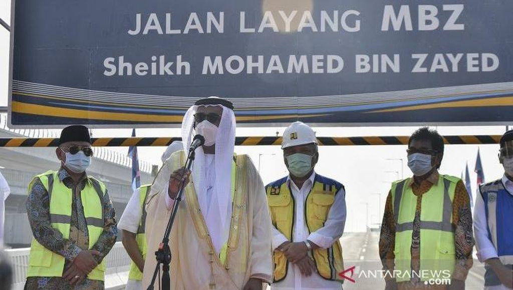 Syekh Mohamed bin Zayed Jadi Nama Tol Layang, Lihat Mesranya RI-UEA
