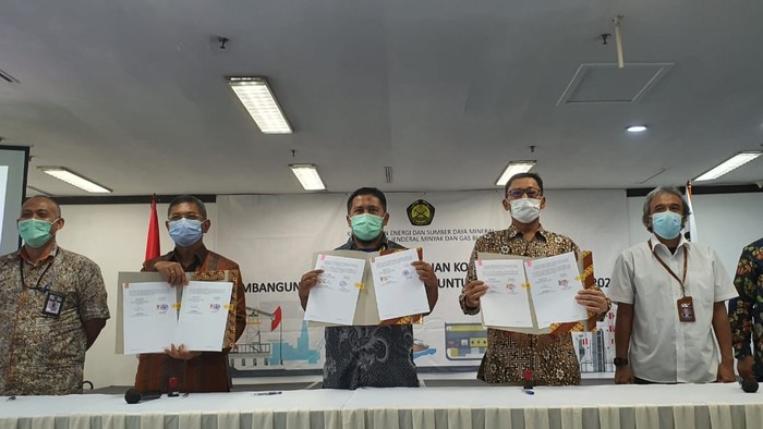 Badan Geologi & Kominfo Kerja Sama soal SMS Blast Mitigasi Bencana