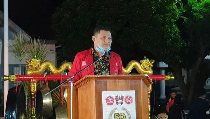 Ketua Umum GMNI Arjuna Aldino Putra (Dok GMNI)
