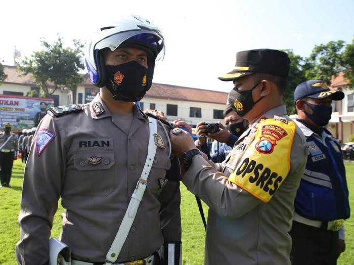 larangan mudik lebaran bagi semua kalangan mulai gencar disosialisasikan di Kabupaten Jombang.