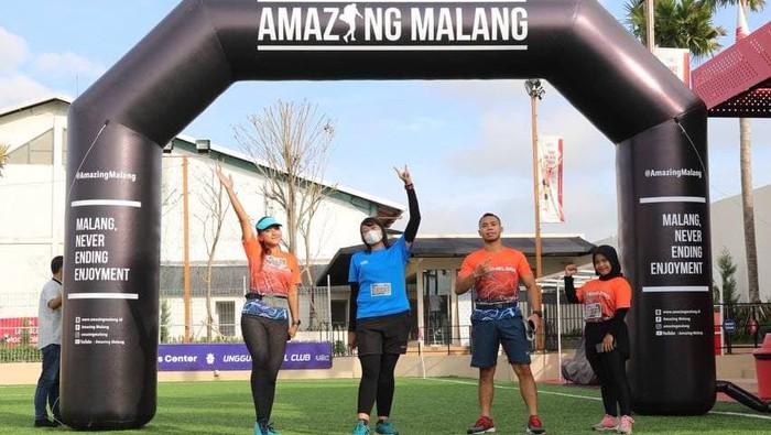 Event Amazing Malang RUN 2021 yang dihelat pada 20-30 Maret 2021 lalu berlangsung lancar dan aman.