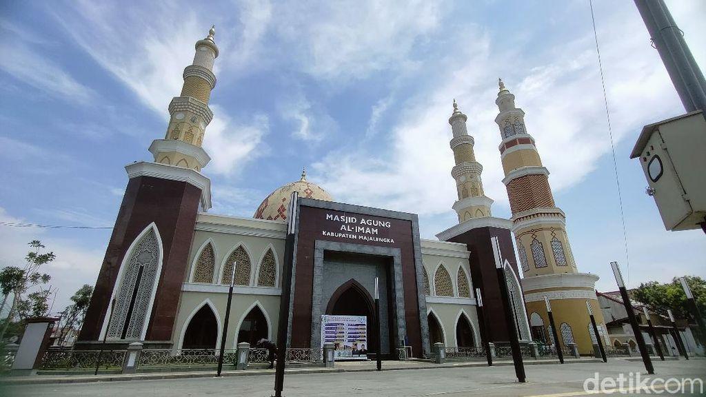 Asyik! Masjid Agung Majalengka Siapkan 150 Paket Takjil Selama Ramadhan
