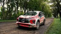 Geber Xpander, Rifat Sungkar Juara Sprint Rally