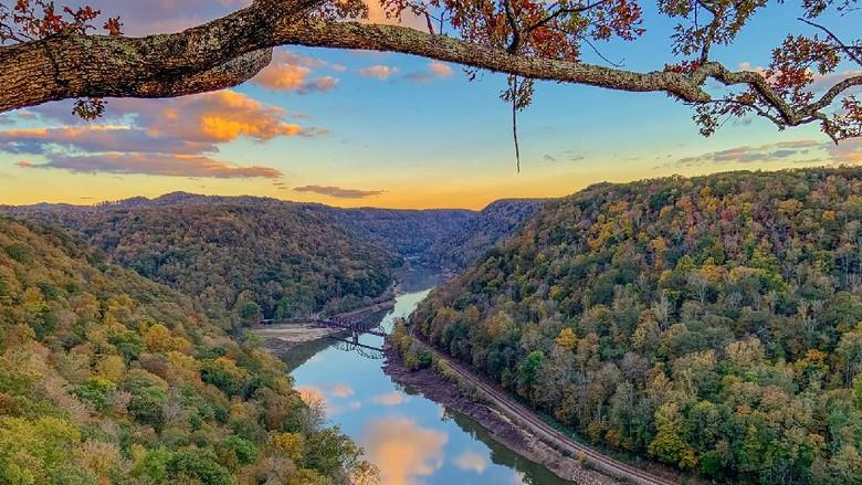 Ngarai baru di Virginia Barat