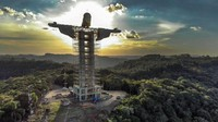 Brasil Kembali Bangun Patung Yesus Raksasa, Lebih Tinggi dari Cristo Redentor
