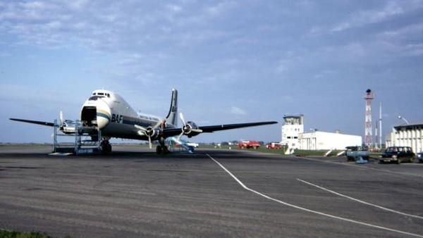 Pesawat itu bernama Carvair. Termasuk pesawat paling aneh yang pernah dibuat, armada itu kini sudah tak lagi digunakan.