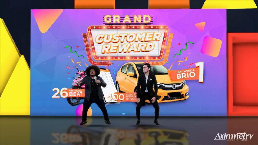 Pos Indonesia Bagikan Mobil ke Pelanggan di Puncak Customer Reward