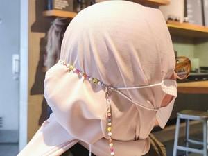 Rekomendasi 7 Rantai Masker Hijab yang Cantik Menemani Bulan Ramadhan