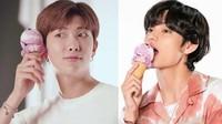 Baru Ngaku, RM dan V BTS Pernah Diam-diam Makan Es Krim saat Masih Trainee