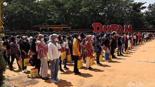 Koordinator Lapangan RSDC Wisma Atlet, Letkol Marinir M Arifin mengatakan mengapresiasi pihak Dufan karena telah memfasilitasi para relawan.