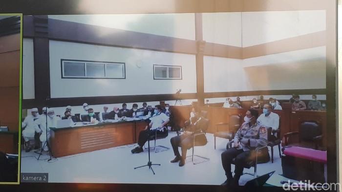 Sidang Kasus Kerumunan Habib Rizieq