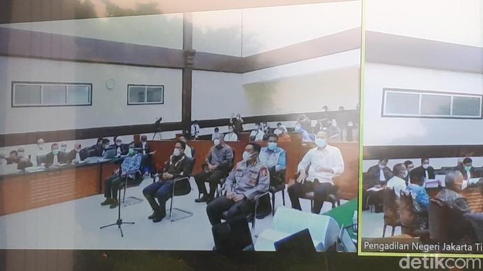 Sidang kerumunan Habib Rizieq (Dwi Andayani/detikcom