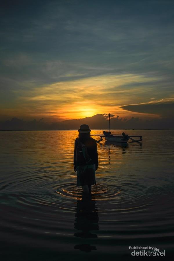 Pantai Sanur jadi tempat wisata paling aman dan nyaman untuk para solo traveler.