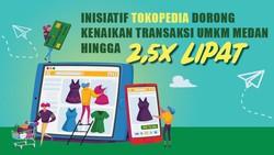 Inisiatif Tokopedia Dorong Transaksi UMKM Medan Naik hingga 2,5 Kali