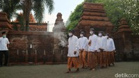 Tradisi Tabuh Beduk Blandrangan di Menara Kudus Sambut Awal Ramadhan
