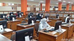Peserta UTBK 2021 di UPI Wajib Pakai Masker-Sarung Tangan