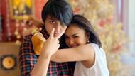 10 Gaya Yuni Shara yang Seperti Kakak-Adik dengan Dua Anaknya