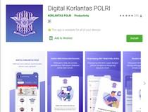 Jangan Salah Download, Aplikasi SIM Online Namanya Digital Korlantas Polri