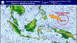 Ada Bibit Siklon Tropis di Pasifik, Warga Malut Diminta Waspada Beraktivitas