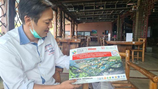 Dhanny Handoko, Dirut PT  Bintang Raya Lokalestari, penyedia lahan Bukit Algoritma