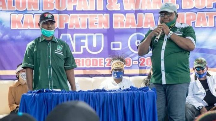 Eks Ketua DPC Raja Ampat PKB periode 2017-2022 Saruddin Binwasef
