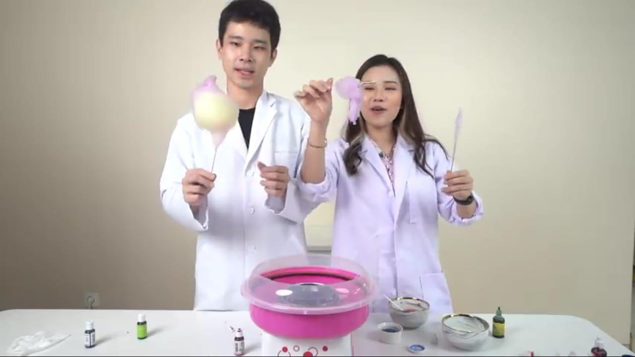 Jessica Jane dan Jess No Limit Eksperimen Gulali Pakai Gula hingga Bumbu Mie Goreng!