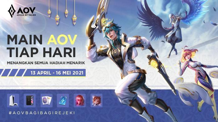 Event AOV Ramadan Bagi-Bagi Rejeki, Ada PlayStation 5, iPhone 11, Hero dan Skin Gratis!
