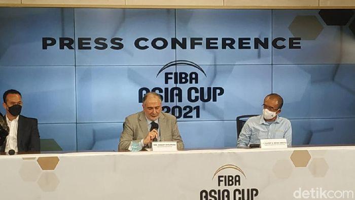 FIBA Asia Cup 2021 meluncurkan logo.