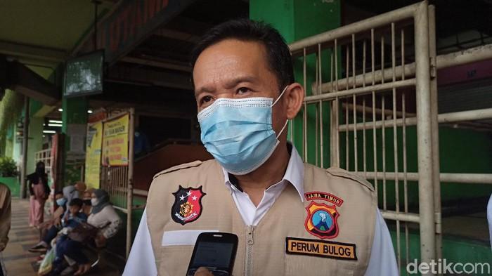 Kabid Operasi dan Pelayanan Pabrik, Bulog Divre Jatim Dedi Apriliadi