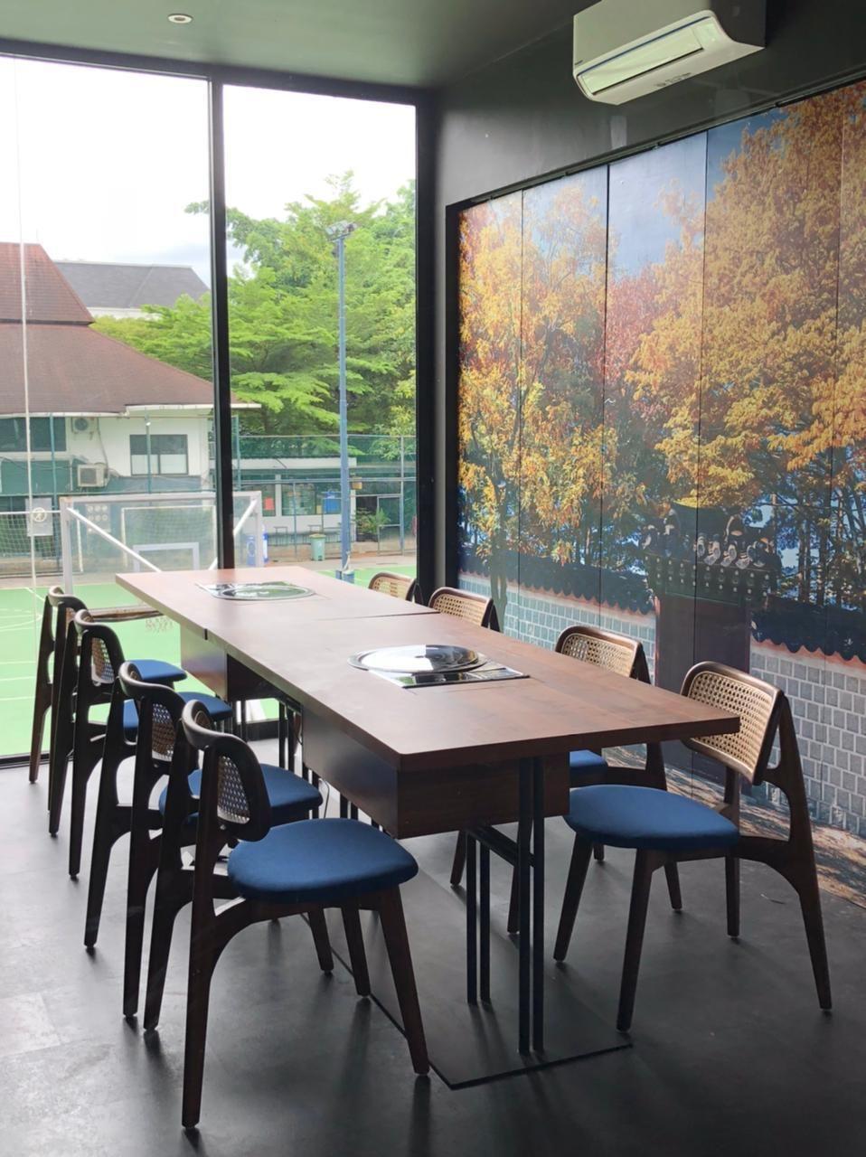 Rossa Buka Resto Korean BBQ Halal di Tempat Instagramable!