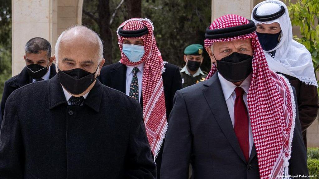 Krisis Mereda, Raja Yordania dan Pangeran Hamzah Ziarah Bersama