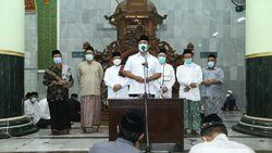 Salat di Masjid Diperbolehkan, Walkot Semarang Imbau Taati Prokes