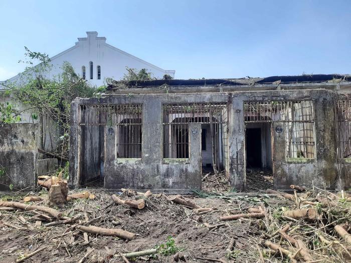 Penampakan penjara kalisosok surabaya saat dibersihkan DKRTH setelah mangkrak bertahun-tahun